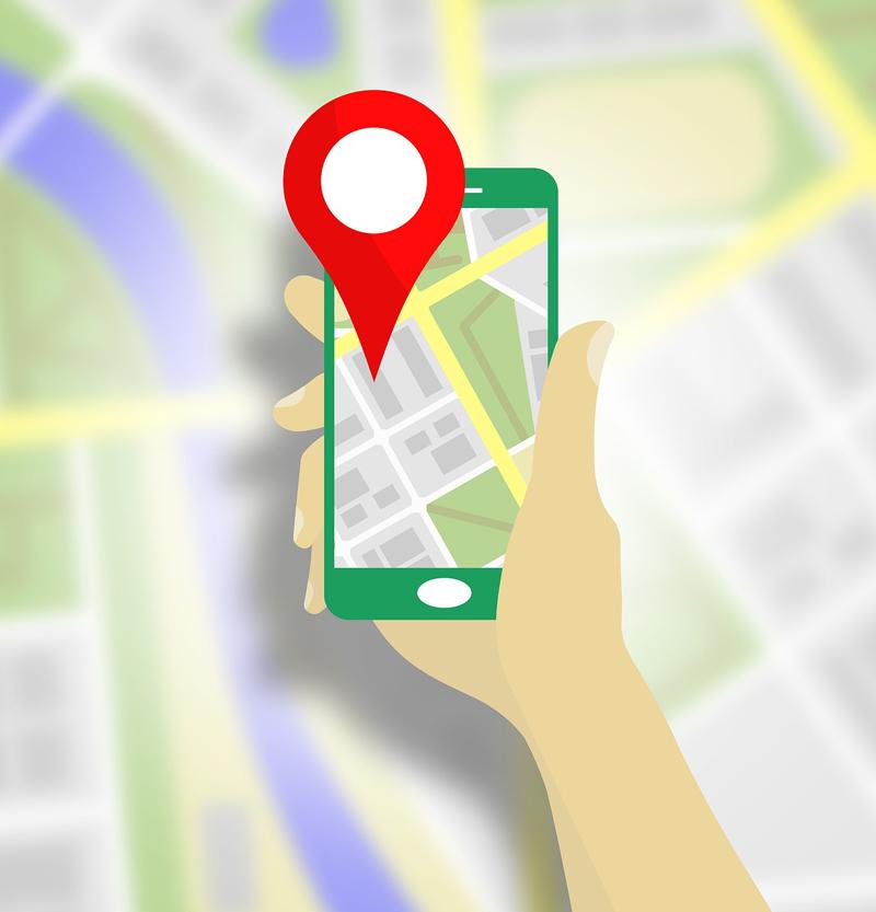 En app för kartor och lokala system