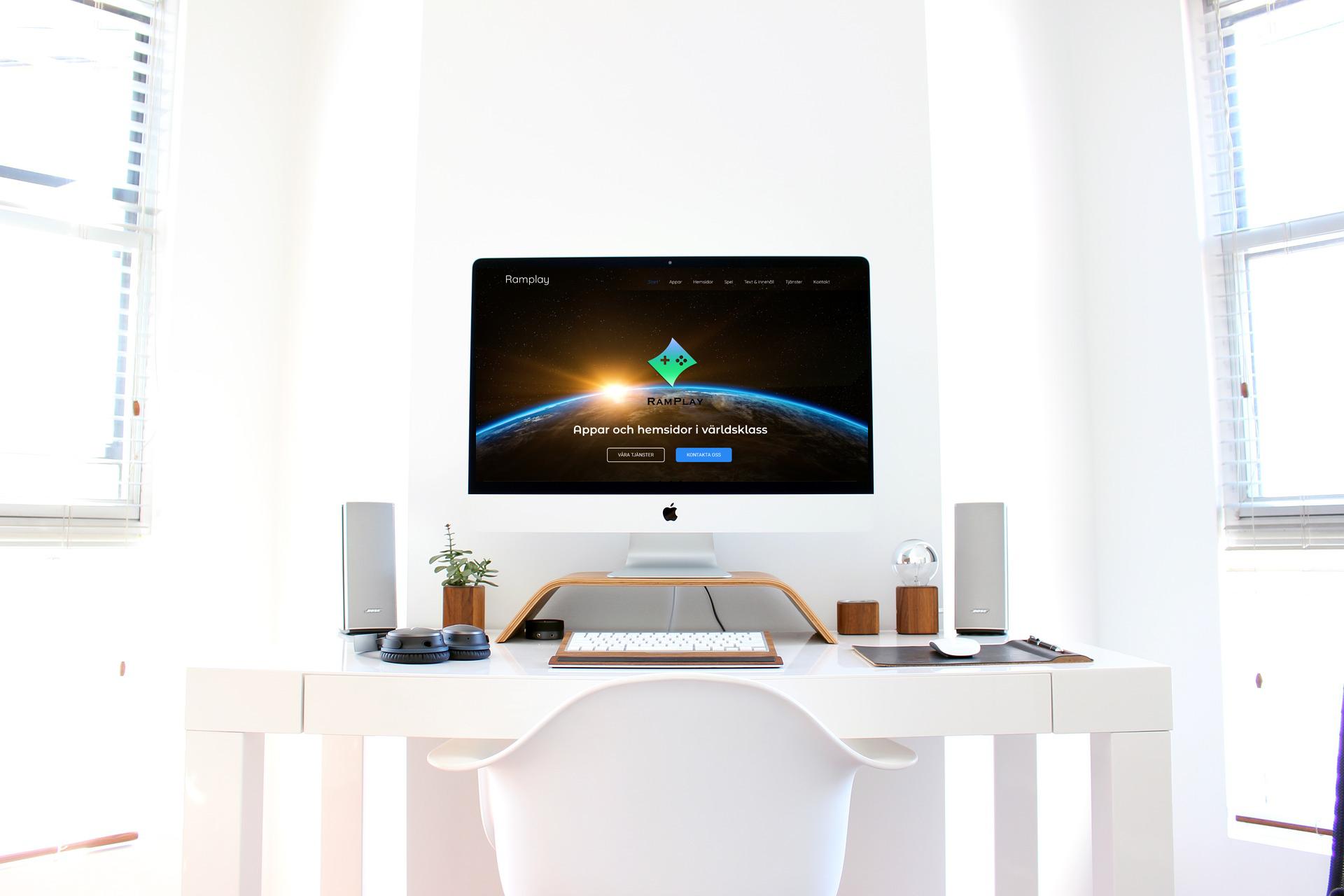 Webbdesign och contentbyrå Ramplay