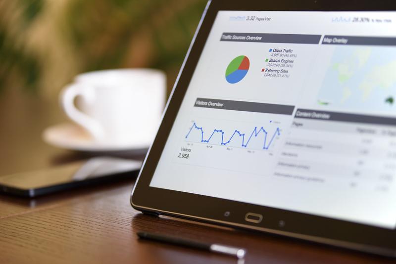Appar med statestik, grafik och avancerade dataprogram