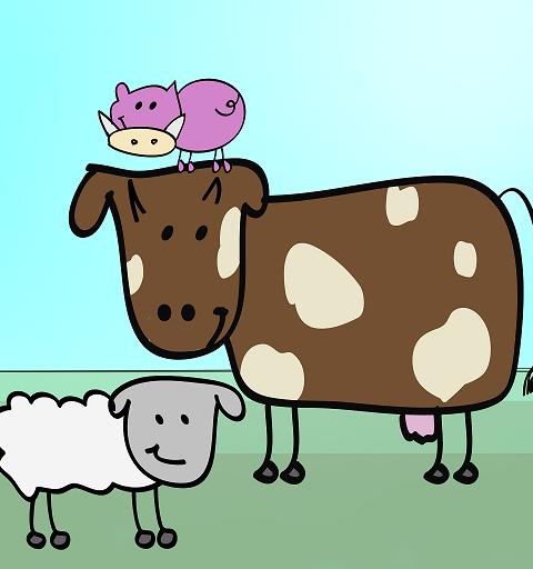 Rock the farm, populärt spel från Ramplay