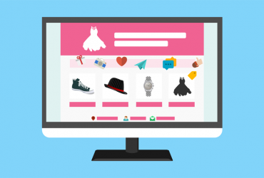 Webbutik med stilig design