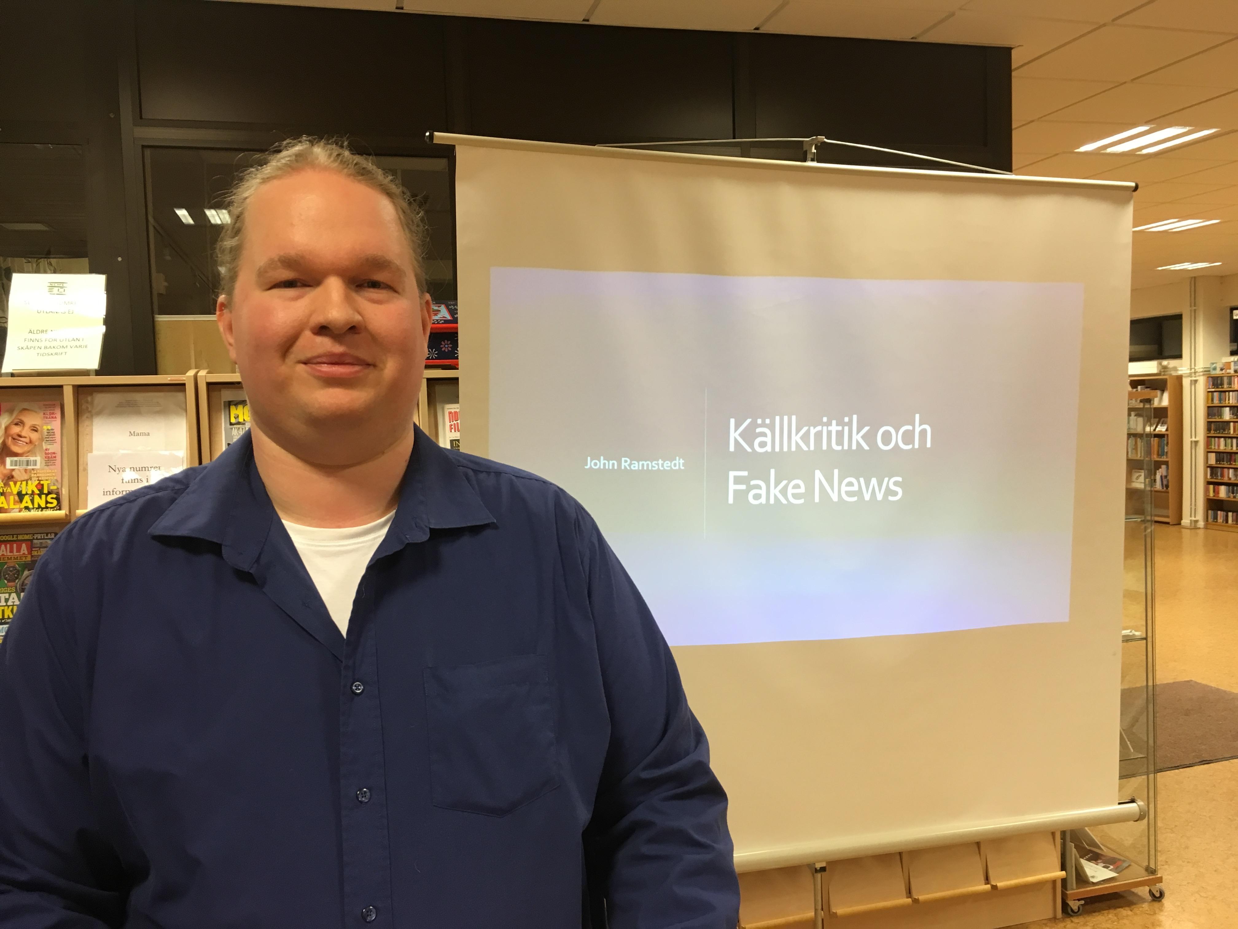 John Ramstedt ingenjör, apputvecklare och föreläsare