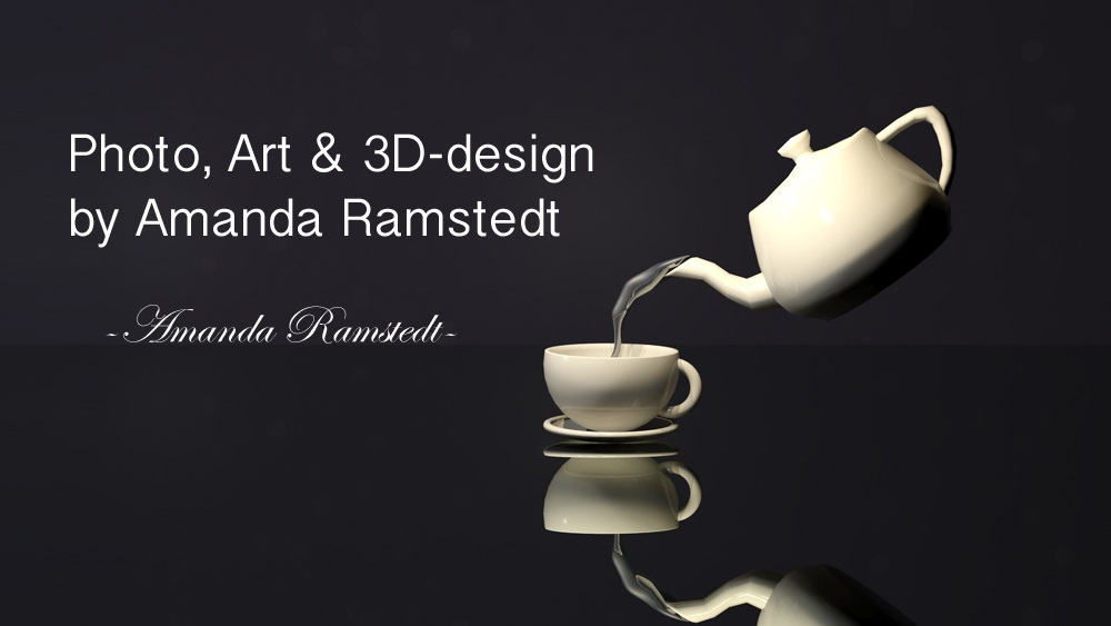 Photo, art och 3D-grafik av Amanda Ramstedt