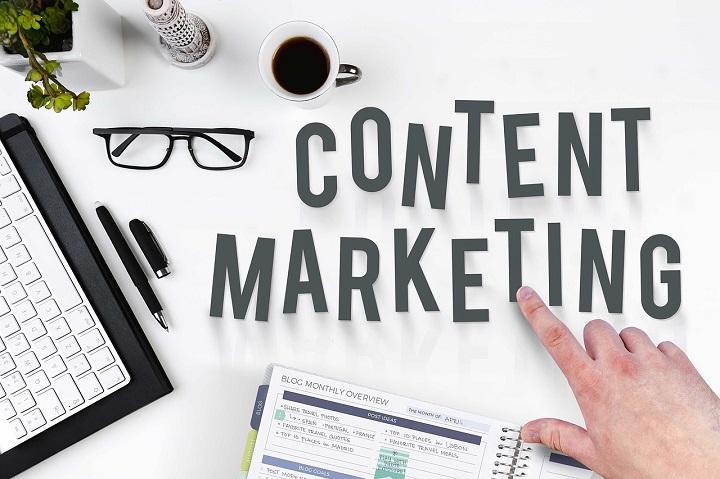 Vi skapar Content marketing